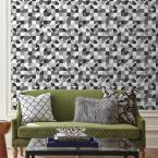 RoomMates 28.29 sq. ft. Mid-Century Geometric Peel and Stick Wallpaper