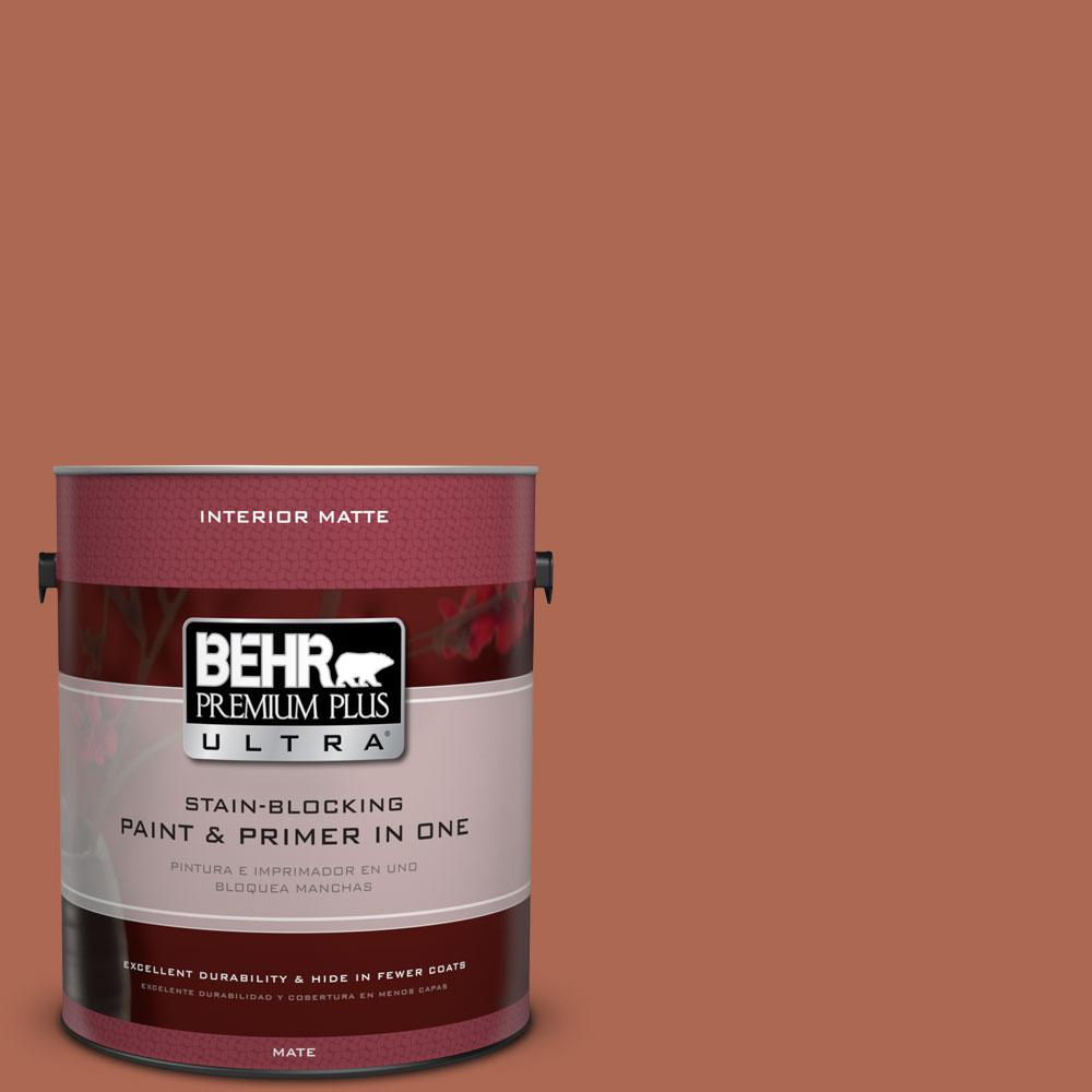 1 gal. #220D-7 Mojave Sunset Flat/Matte Interior Paint