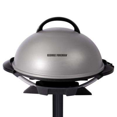 Indoor/Outdoor Electric Grill in Platinum