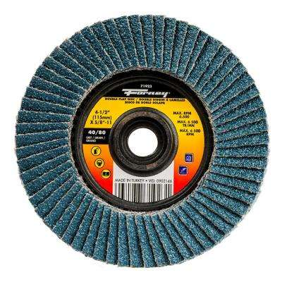 40/80 Grits Double-Sided Flap Disc