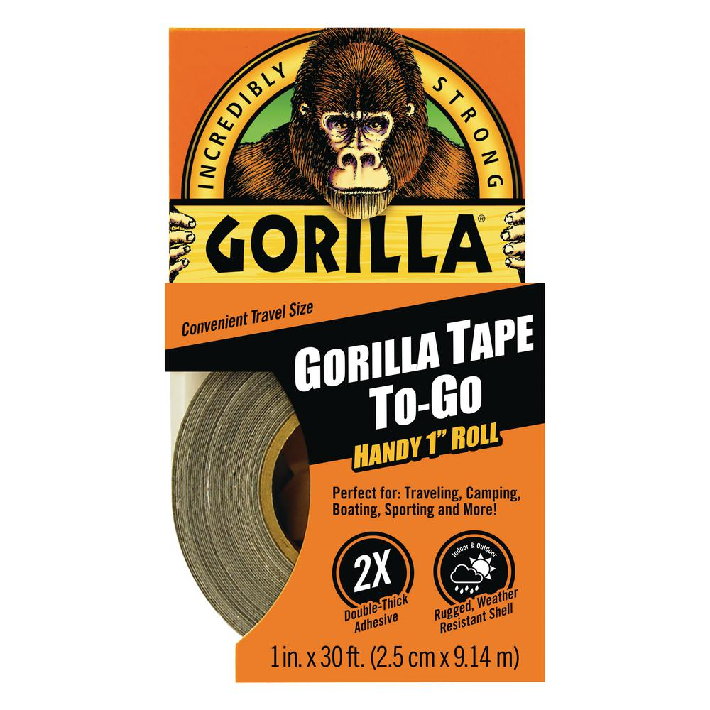 Gorilla 1 In X 10 Yds Handy Roll Tape 61001 The Home Depot