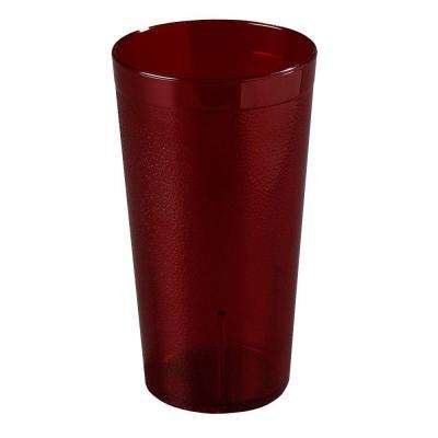 16.5 oz. Polycarbonate Stackable Tumbler in Ruby Red (Case of 24)
