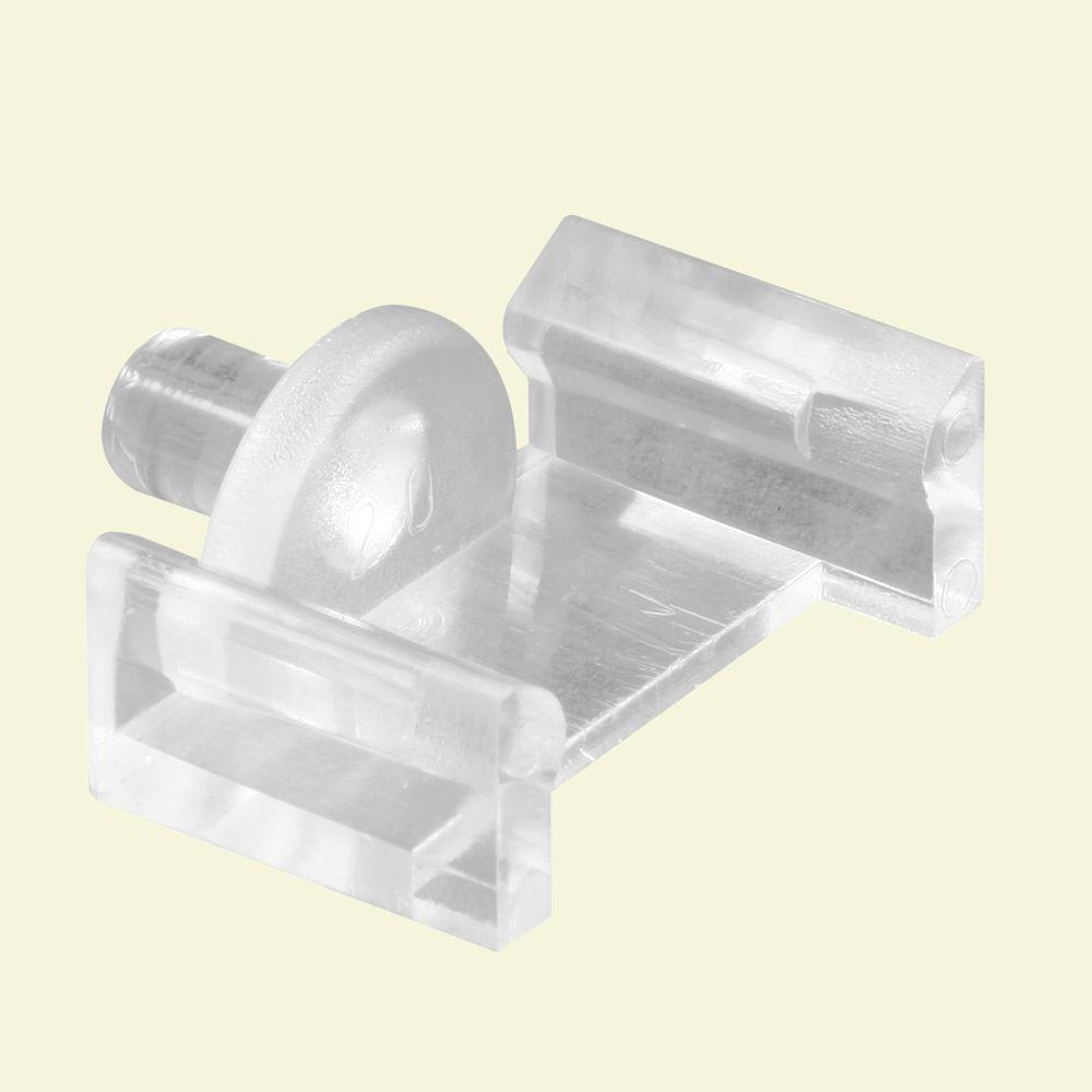 Prime line clear plastic window grid retainer 6 pack l for Window plastic