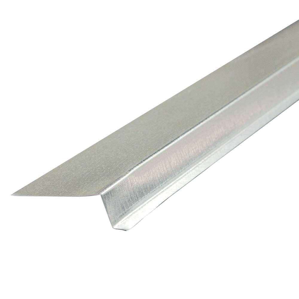 5/8 in. x 10 ft. 26-Gauge Galvalume Steel Z Bar Flashing