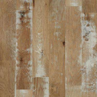 Take Home Sample - Major Event Hickory Riverbed Engineered Click Hardwood Flooring - 9.25 in. x 8 in.