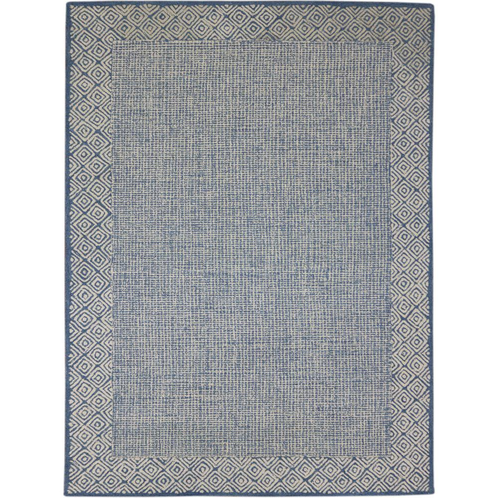 Calhoun Blue 2 ft. x 3 ft. Rectangle Area Rug
