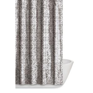 Truly Soft Watercolor Paisley 72 inch Gray Shower Curtain by Truly Soft