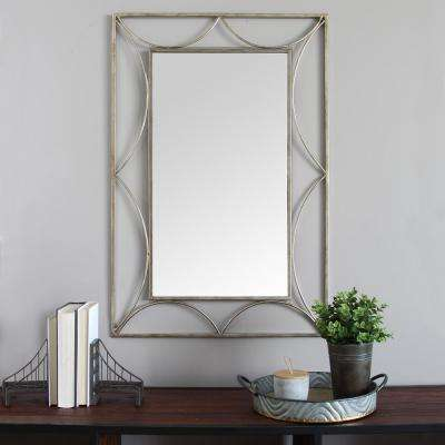 Anastasia Metal Wall Mirror