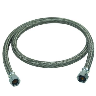 1/2 in. Compression x 1/2 in. FIP x 48 in. Braided Polymer Dishwasher Connector