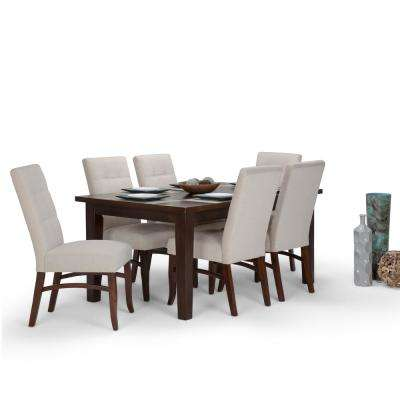 Ezra 7-Piece Platinum Dining Set