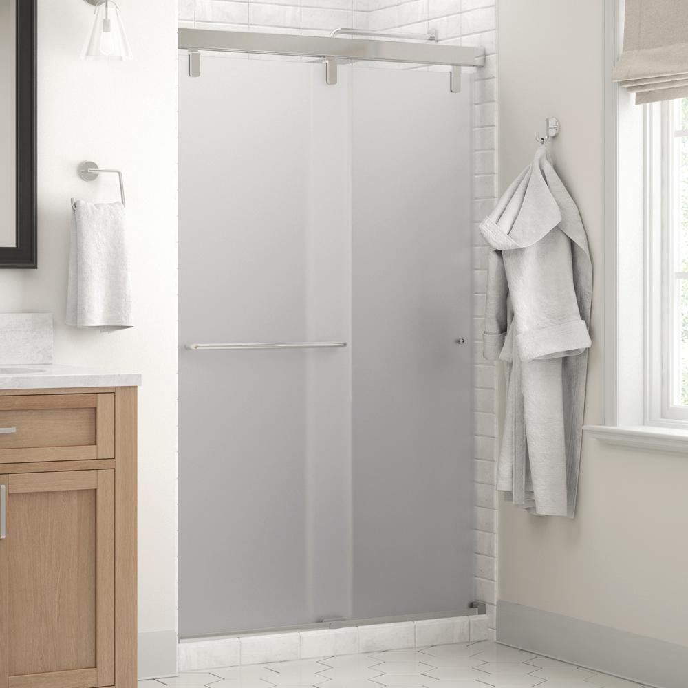 Delta Portman Shower Door Reviews Delta Portman 60 In X 71