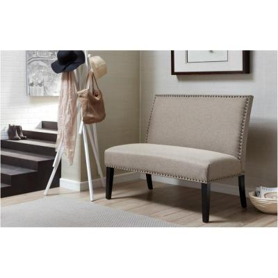Banquette Gray Bench