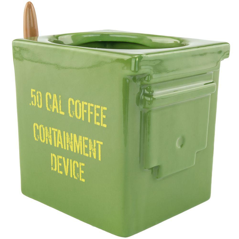 10 oz. Green Ammo Can Coffee Mug