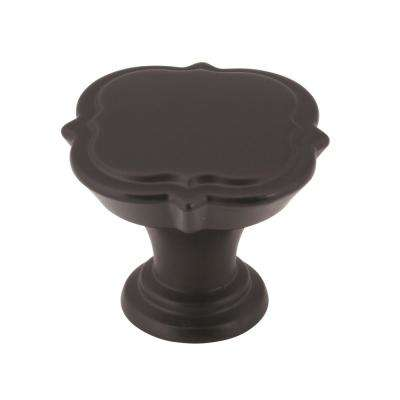 Grace Revitalize 1-3/8 in (35 mm) Diameter Black Bronze Cabinet Knob