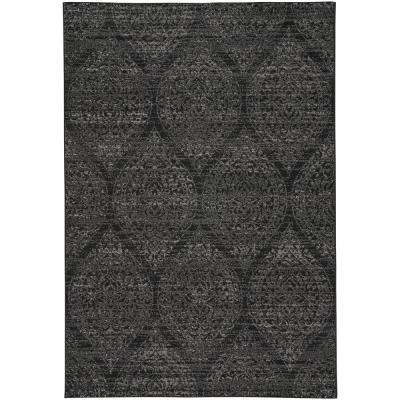 Channel Ebony Ash 5 ft. 3 in. x 7 ft. 6 in. Area Rug