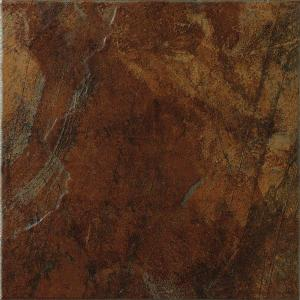 Marazzi Imperial Slate 12 In X 12 In Rust Ceramic Floor And Wall Tile 14 53 Sq Ft Case