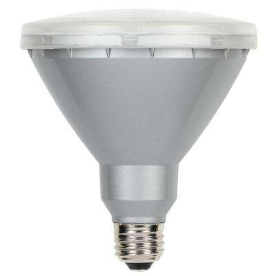 90w Equivalent Warm White Par38 Led Flood Outdoor Wet Location Light Bulb