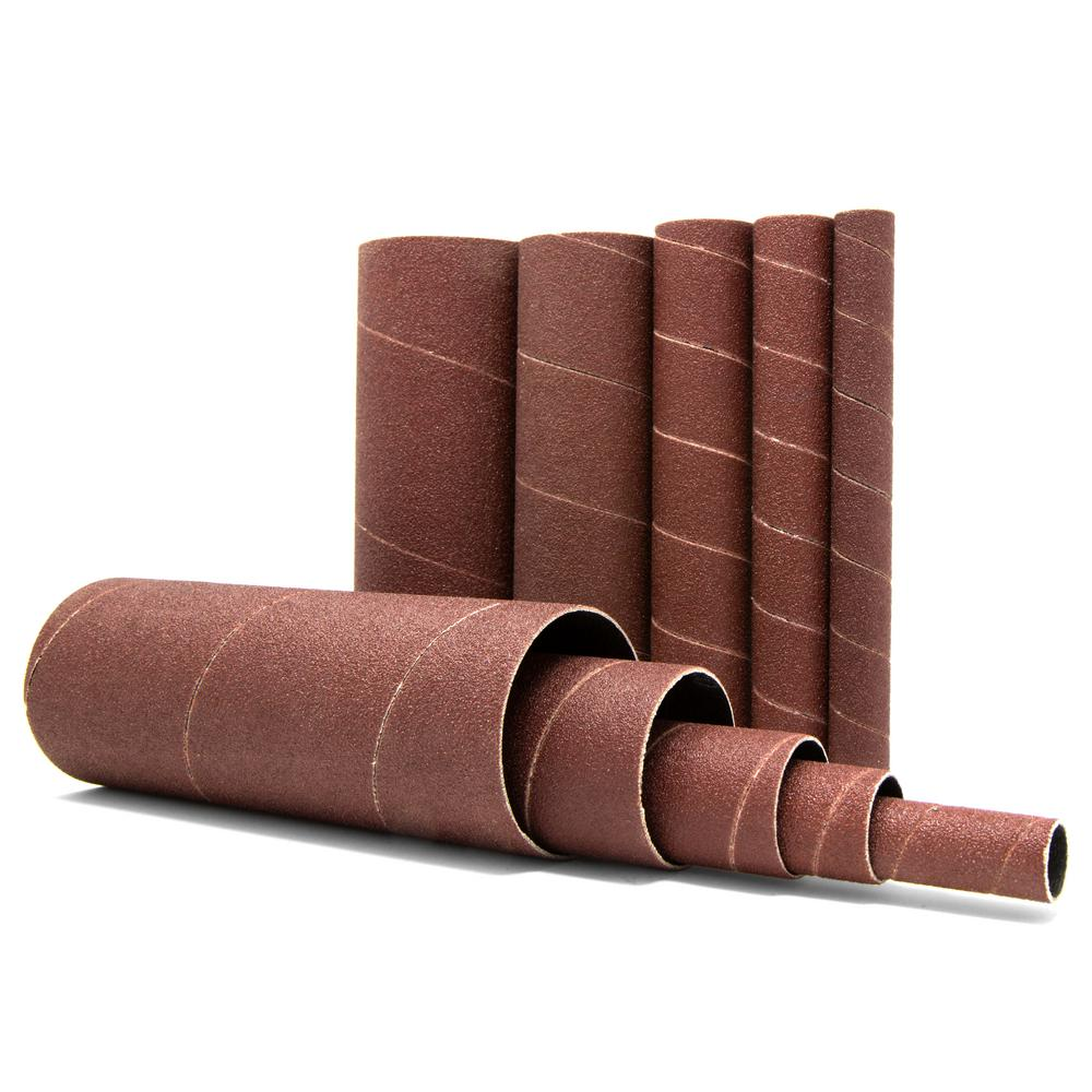 WEN 5-5/8 in  H 150-Grit Oscillating Spindle Sandpaper Sanding Sleeves  (10-Pack)