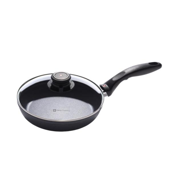 Swiss Diamond Classic Series 8 in. Non-Stick Fry Pan with Lid