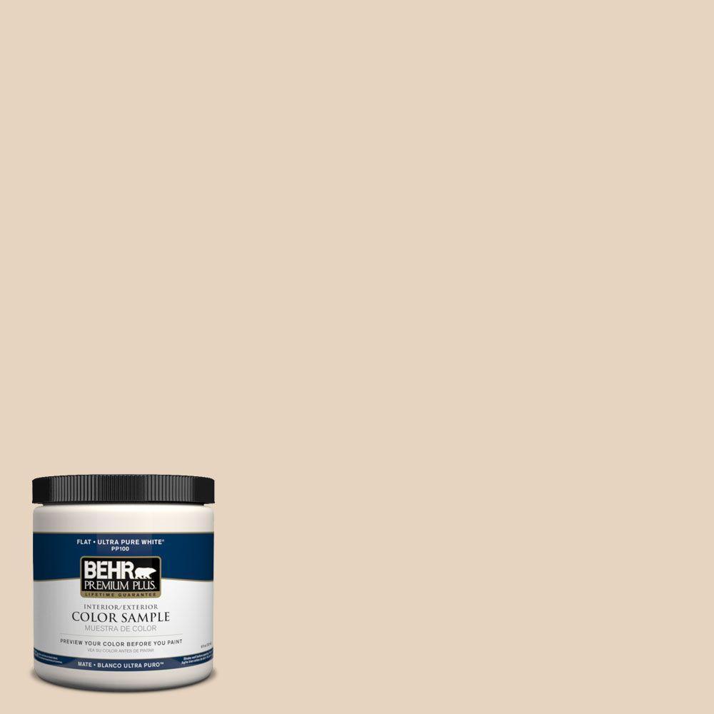 BEHR Premium Plus 8 oz. #PPH-14 Roasted Almond Interior/Exterior Paint Sample