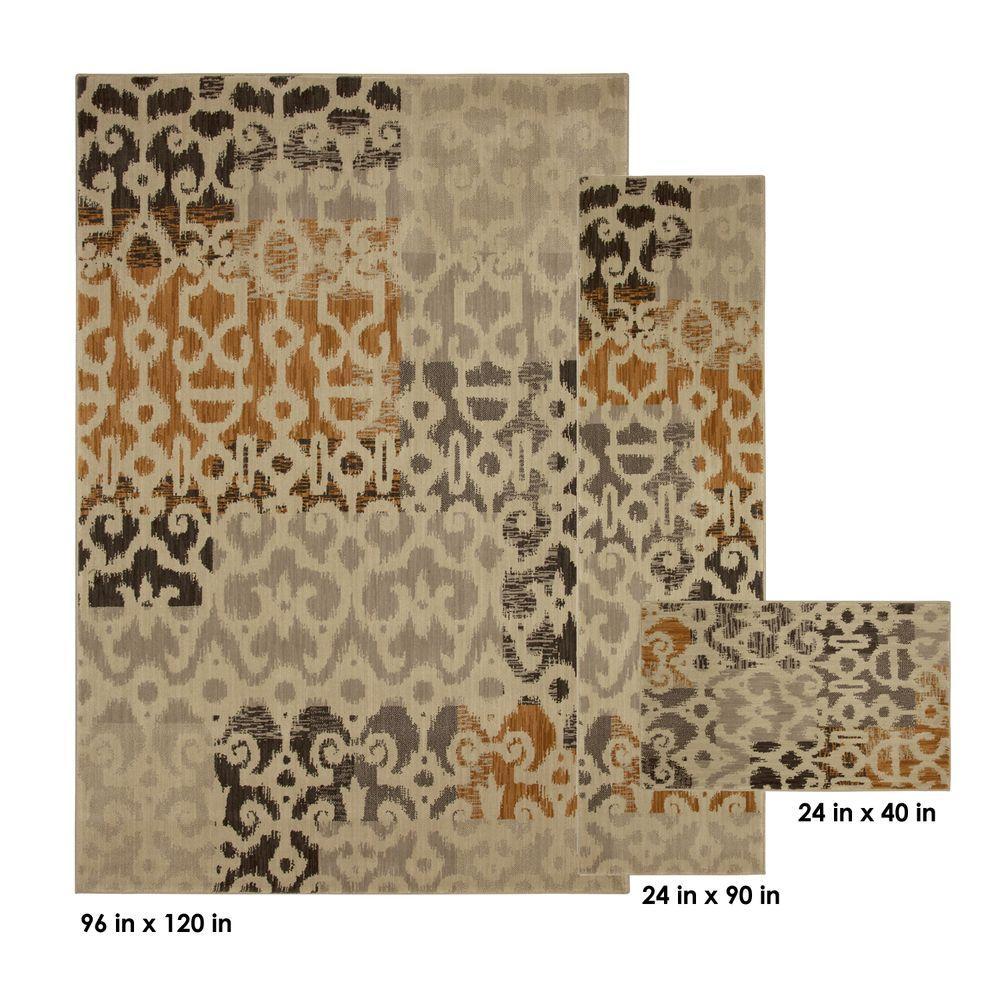 Home Decorators Collection Azur Ivory 3-Piece Rug Set