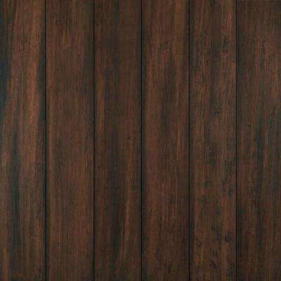 Florence 7 mm T x 5.2 in W x 36.22 in L Waterproof Engineered Click Bamboo Flooring (15.45 sf/case)