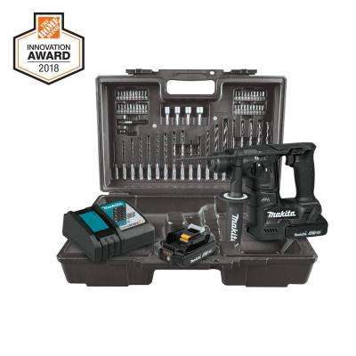 18V LXT Sub-Compact Brushless Cordless 11/16 in.Rotary Hammer Kit, accepts SDS-PLUS bits, 65 Pc. Accessory Set (2.0 Ah)