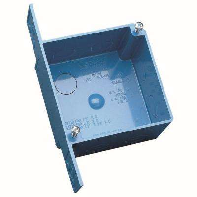 4 in. PVC Square ENT Outlet Box (10-Pack)