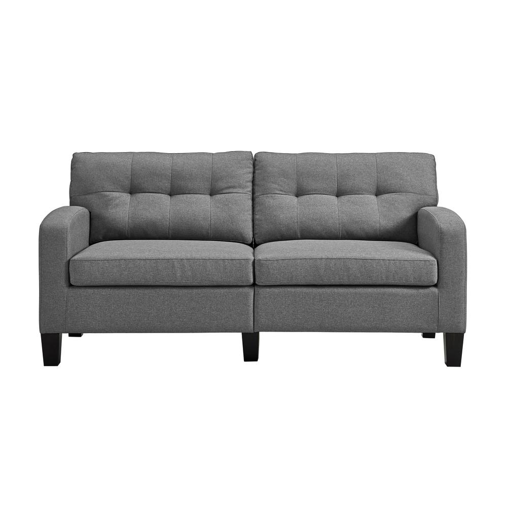 Dorel Living Farrah Gray Sofa