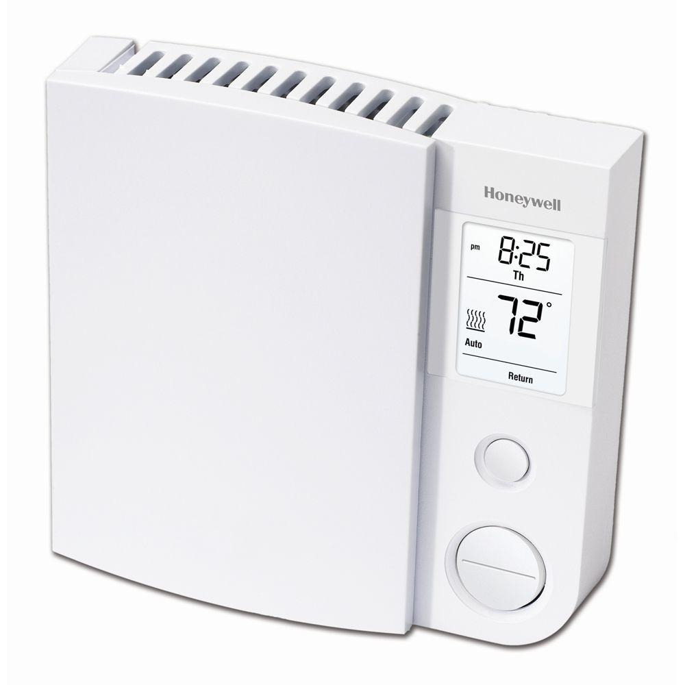 lux 7 day manual or programmable thermostat tx100e 006 the home depot 5 2 day baseboard programmable thermostat