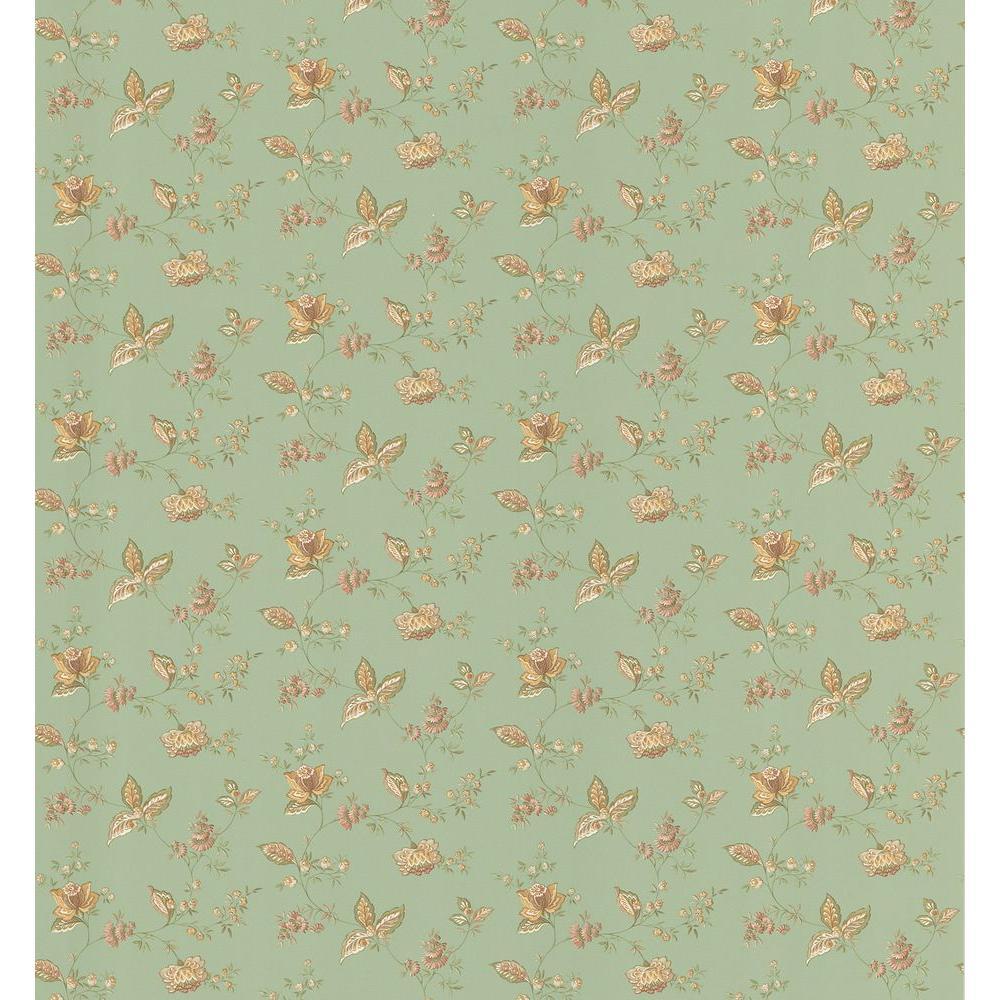 Brewster Jacobean Wallpaper