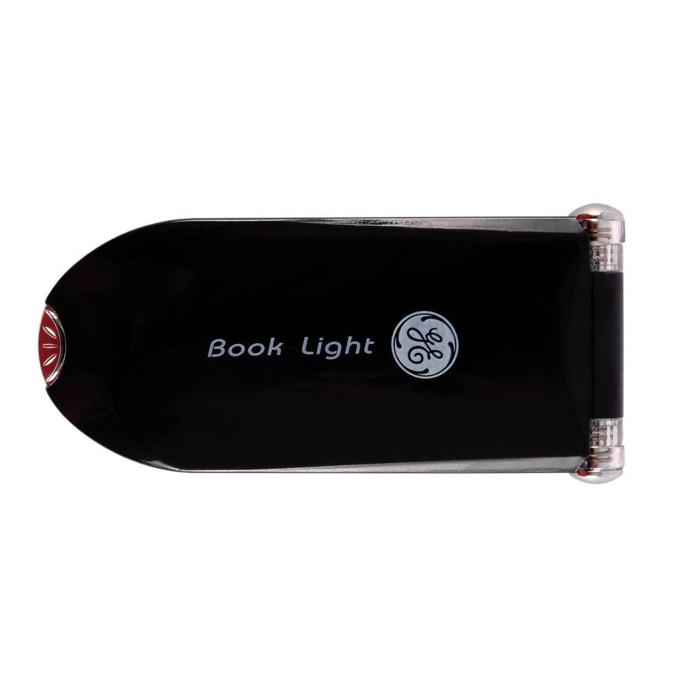 GE Black LED Battery-Operated Clip-On Booklight-DISCONTINUED