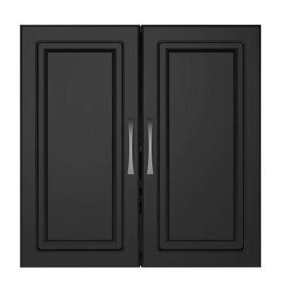 Trailwinds 24 in. Obsidian Black Wall Cabinet