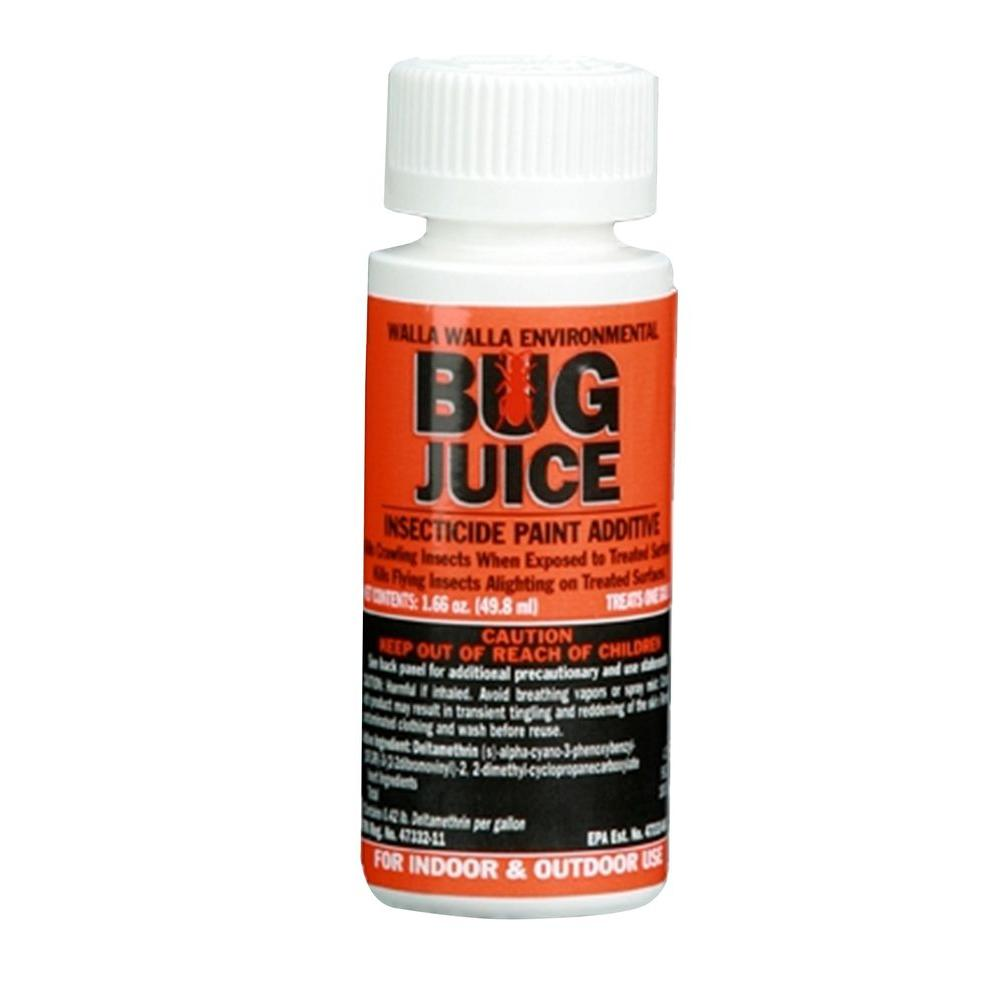 BugJuice Insecticide Paint Additive Treats Gal The - Painting that kills you