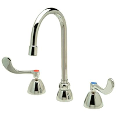 AquaSpec 2-Handle Commercial Bathroom Faucet in Chrome
