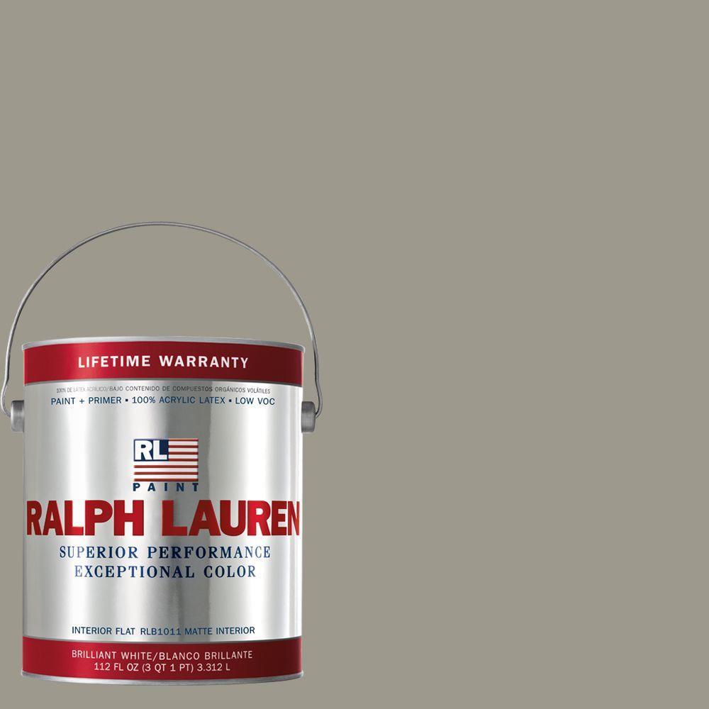Ralph Lauren 1-gal. Wave Gray Flat Interior Paint