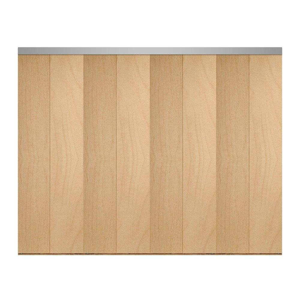 144 in. x 80 in. Smooth Flush Stain Grade Maple Solid