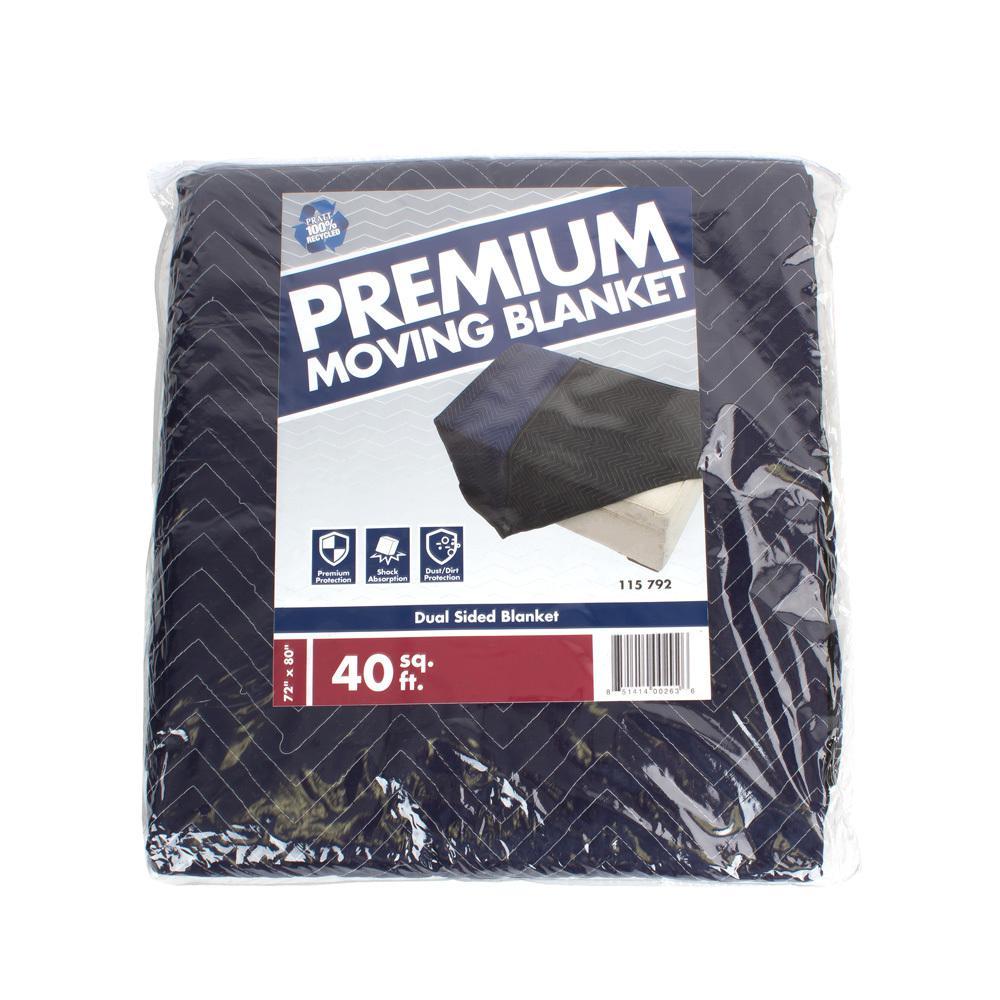 72 in. W x 80 in. L Premium Moving Blanket 8 Pack