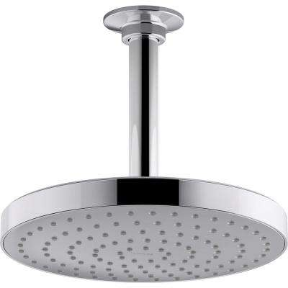 Awaken 1-Spray 7.875 in. Showerhead in Polished Chrome