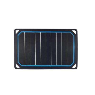 The Portable 5-Watt Monocrystalline Solar Panel with USB Port