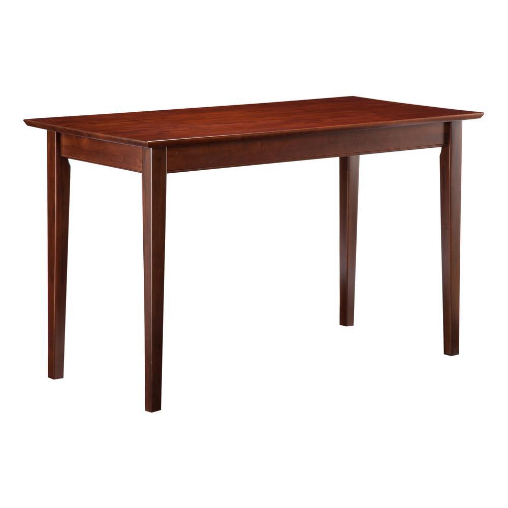 Atlantic Furniture Shaker Walnut Writing Desk
