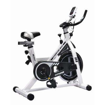 Indoor Fitness Cycling Bike in White