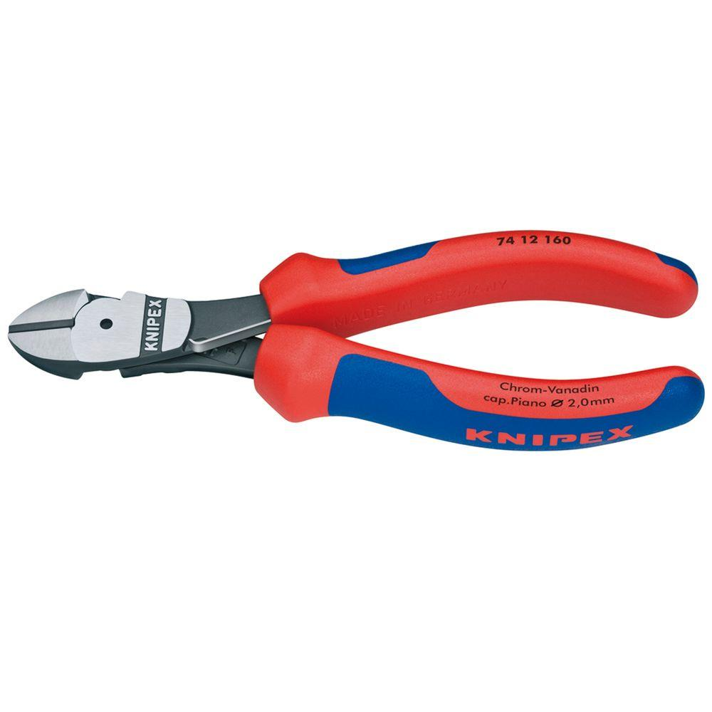 6-1/4 in. High Leverage Diagonal Cutters with Comfort Grip