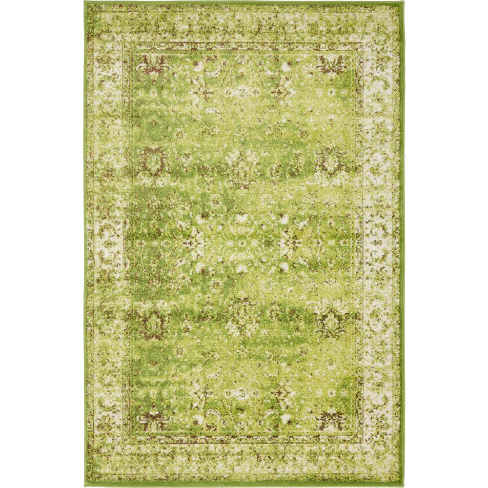 Unique Loom Istanbul Green 3 Ft. X 9 Ft. 10 In. Runner Rug