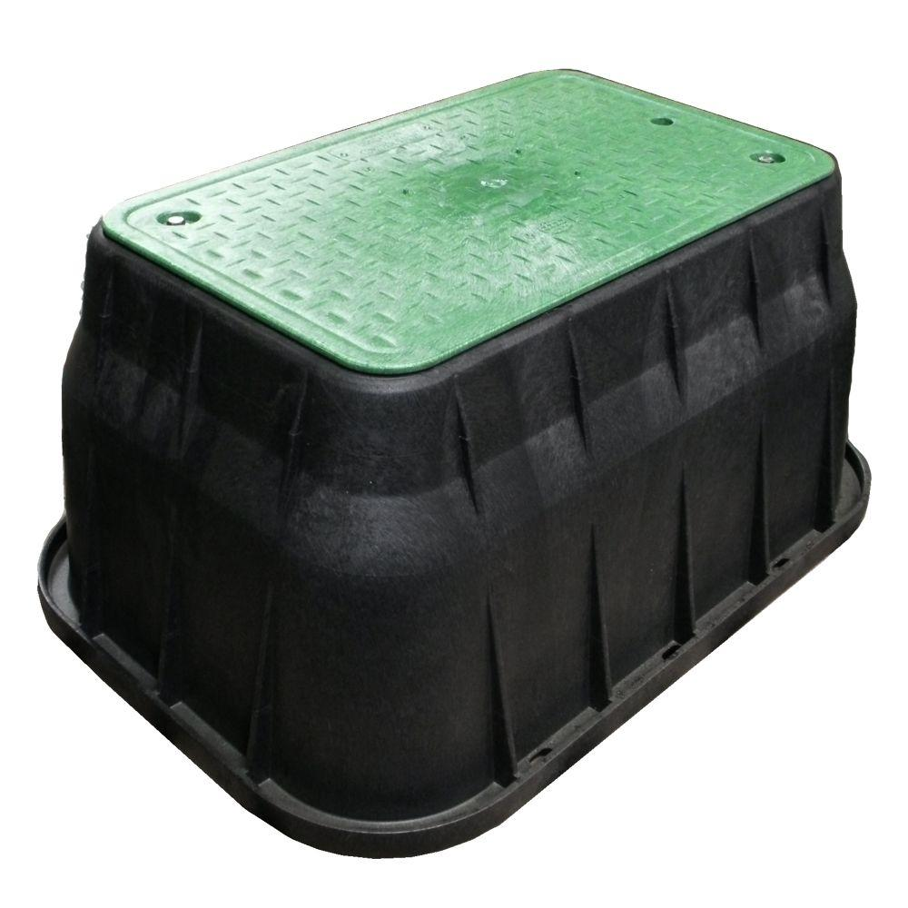 NDS 17 in. x 30 in. x 18 in. Valve Box and Bolt Down Cover - ICV