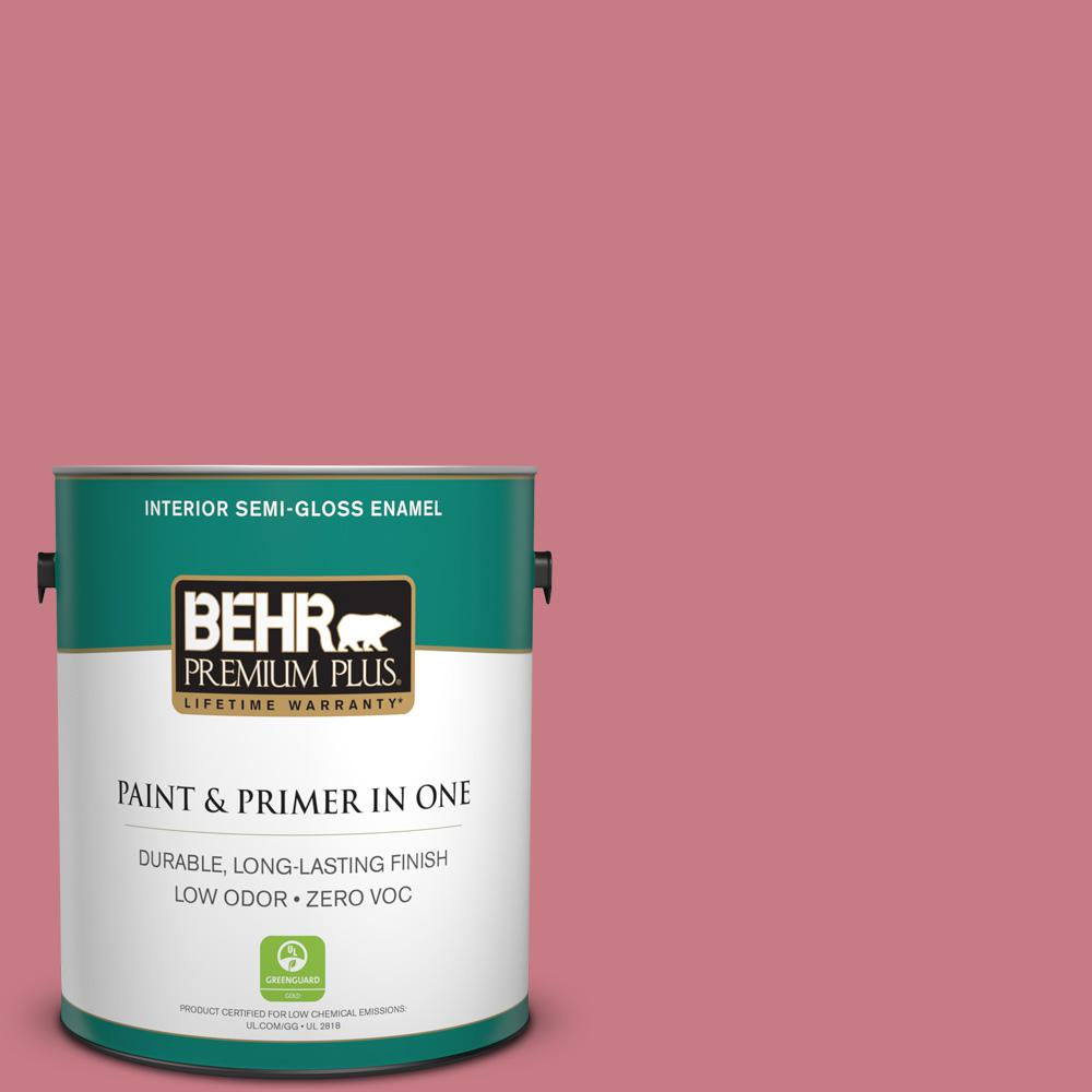BEHR Premium Plus 1-gal. #M150-5 Enamored Semi-Gloss Enamel Interior Paint