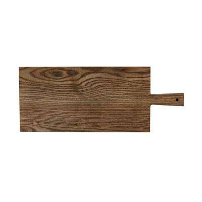 Elemental Porcelain Ash Paddle Rectangular Board