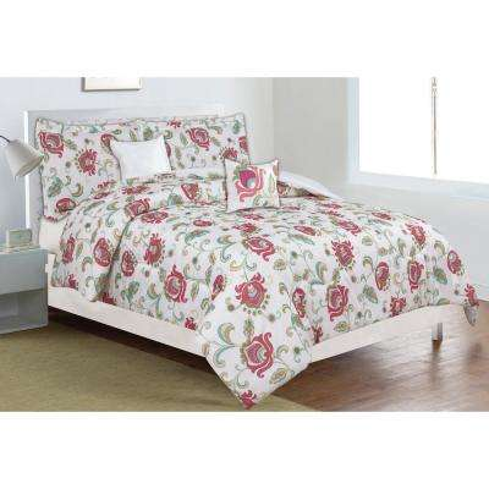Classic Trends Coral 5-Piece Full/Queen Comforter Set