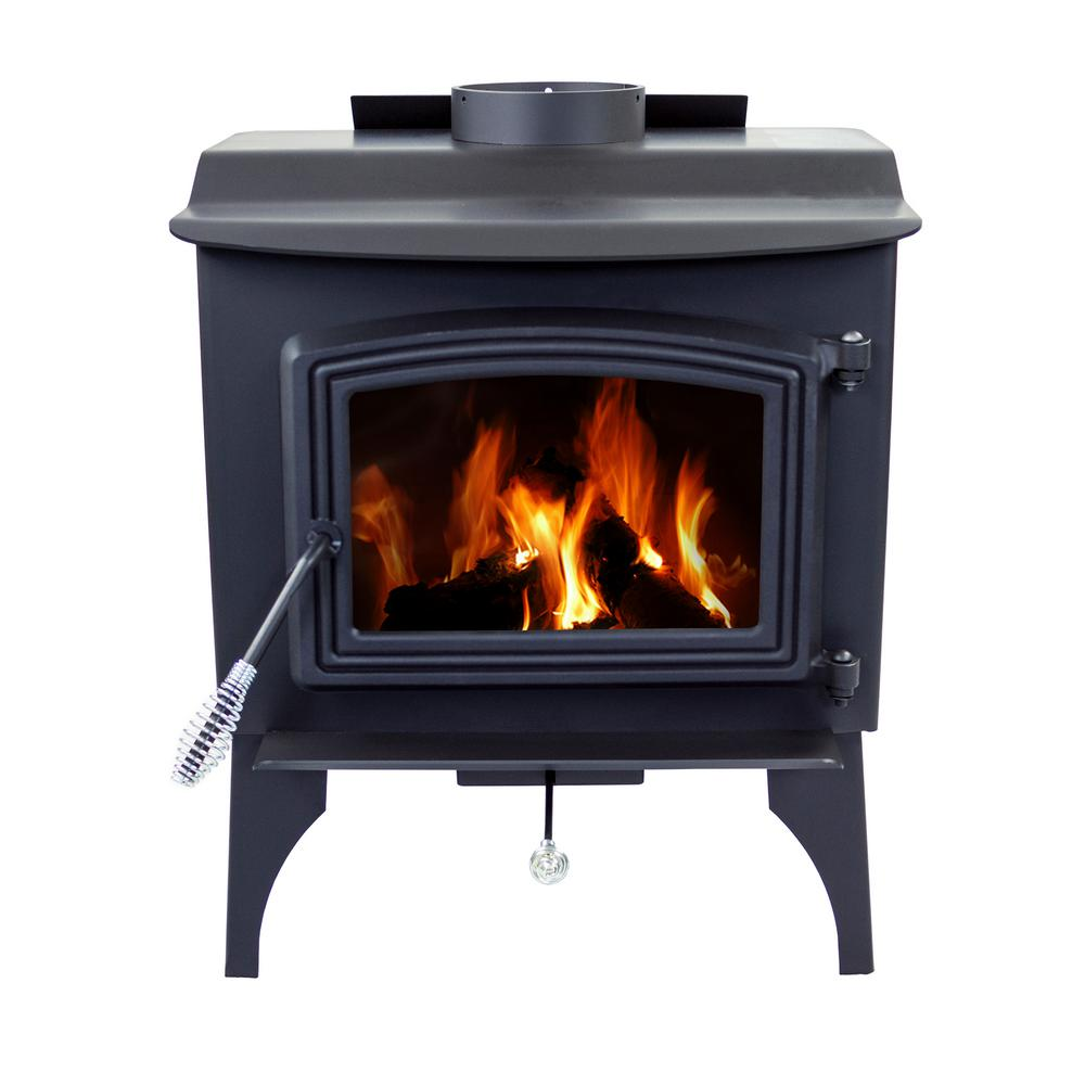 Pleasant Hearth 1,200 sq. ft. EPA Certified Wood-Burning Stove