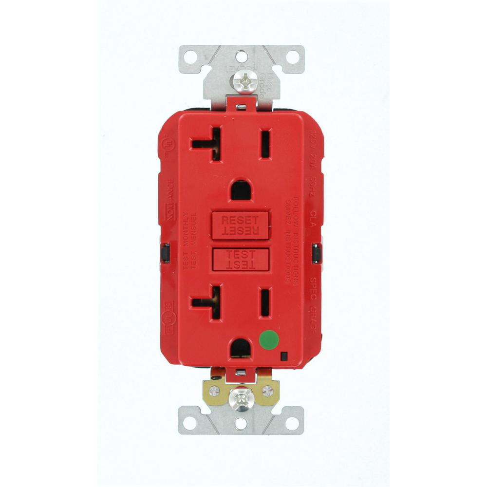 Leviton 20 Amp Lev Lok Modular Wiring Device Smartlockpro Hospital Gfci Outlets Grade Extra Heavy Duty